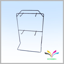 Funktionelle hochwertige Desktop-Draht-Metall-hängende Display-Racks