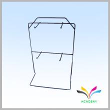 Funcional de alta calidad de escritorio alambre metal colgando expositores
