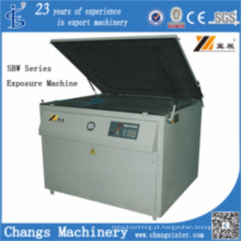 Máquina de exposição manual da série SBW