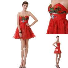 Astergarden más calientes impreso Beaded vestido de cóctel de baile AS084