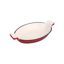 Enamel Cast Iron Fish Pan Roasting Pan