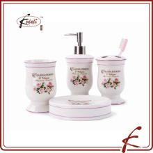 Conjunto de baño de cerámica