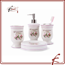 Роза переводная картинка керамика ванная комплект