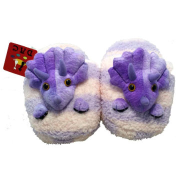 zapatilla animal de peluche de felpa