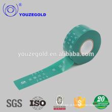 Fita de tubulação de pvc de cinto verde isolante