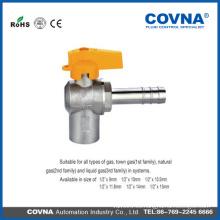 3/4 válvula de bola latón Válvula de bola de gas válvula de bola de latón con la entrerrosca de alta calidad
