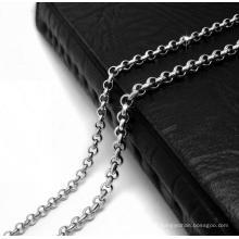 Hummer-Kette Halskette 19.68 Zoll und 23.62 Zoll 316L Edelstahl