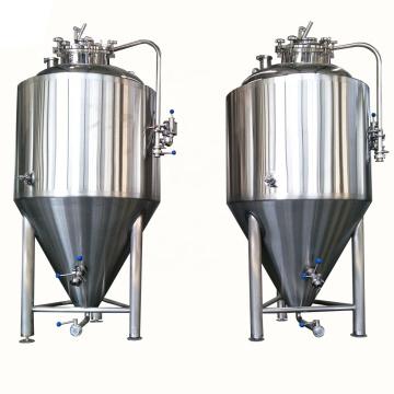 500L industrial microbiology stainless steel beer fermentation tank