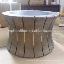 roda de pedra de corte de diamante roda de roda de mármore de 300mm