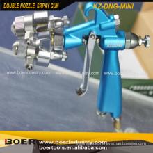 Tipo mini da arma de pulverizador da função do bocal dobro mini