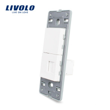 Livolo US Стандартный компьютер RJ45 Подставка с цоколем VL-C5-1C-11