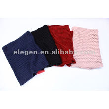 ELEGENT 100%ACRYLIC KNITTED GARMENT DYED SCARF