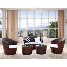 Good price cheap outdoor wicker furniture garden sofa sets