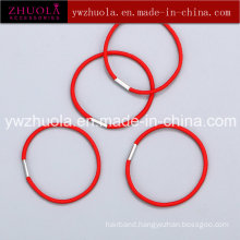 Elastic Hair Band with Metal Connection
