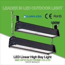 luz linear conduzida do produto SNC ip66 100watts luminária industrial