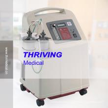 Concentrador de oxígeno de doble flujo médico (THR-OC7F5-DF)