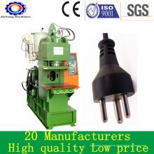 Máquina de moldeo por inyección vertical de plástico para plugs