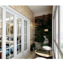 Inserts en plastique de la fenêtre de porte de personnalisation simple de vente chaude de la plus haute qualité