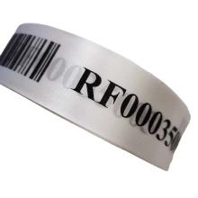 Waterproof  cold  transfer printing nylon taffeta fabric tape for clothing label