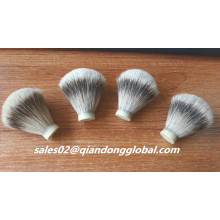 Soft Backbone 18mm Silvertip Dachs Haar Knoten