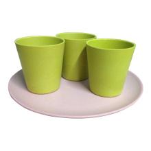 Эко бамбуковые стаканчики для кофе