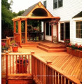 Red Cedar Wood Pavilion and Corridor