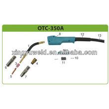 Otc 350a газовая сварочная горелка / occ сварочные принадлежности