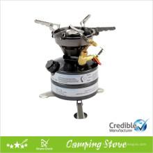 Préchauffage poêle de camping intégrée multi-carburant, cuisinière diesel, cuisinière au kérosène