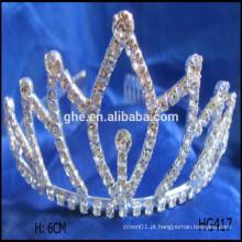 Mini tiara princesa festa de aniversário tiara coroa coroa estrela coroa tiaras