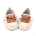 Slip-on Baby Girl Leather Shoes Chaussure Enfant en bas âge