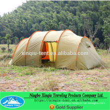 3-4 Perseon double layer outdoor camping Tunnel Tent