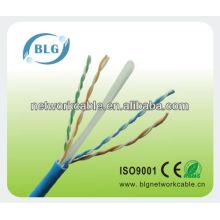 Alta velocidade do cabo de cablagem ethernet Ethernet Cat6 4 pares