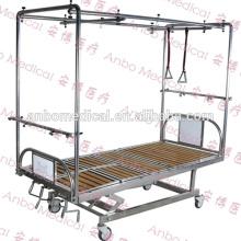 Больничная ортопедическая тягача с четырьмя кривошипами Кровать