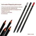 Lápis de maquiagem permanente impermeável para sobrancelhas e lábios