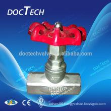 """DN15 1/2"""" Screwd Gate valve 200 WOG,Stainless Steel 304,Thread end"""