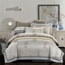 Good reputation & Nice cotton bedding set chinese jacquard beeding set home living bedding set