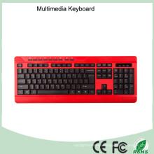 Cheap Ergonomic Design Waterproof Wired Office Computer Keyboards (KB-1802M)