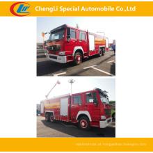 Sinotruk 6 * 4 371HP caminhões de combate a incêndios