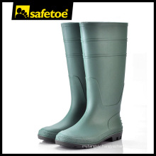Green gum boot, fashionable gum boot,safety gum boot O2 with CE certificate W-6036G