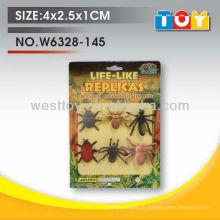 Мягкий резиновый мини piders и муравьев разных playtoy для ребенка