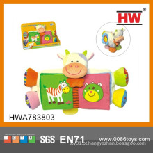 2015 Novo Desenho Cartoon Animal Plush Colorido Toy Importador