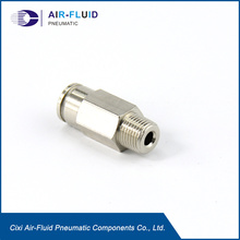Air-Fluid Grease Push-To-Connect Fittings Straight.