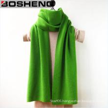 Women′s Solid Color Wool Tassel Wrap Stole Shawl Woolen Scarf