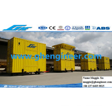 Machine automatique de bagage et de pesage de remplissage mobile avec contrôle PLC