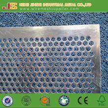 Feuille métallique perforée galvanisée utilisée pour la fenêtre et la porte