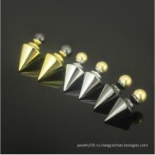 Серьги стержня перлы нержавеющей стали серебряные серьги стержня ювелирных изделий золота (hdx1145)