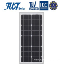 30W Mono PV Panel in Good Quality Prix bas