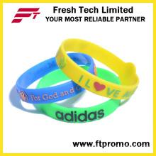 Silicone Bracelet OEM Promotion Colourful Silicone Wristband