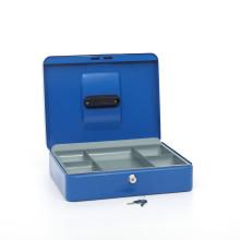 Wholesale high quality colorful cheap price Metal Money Box Cash Storage Box with Keys