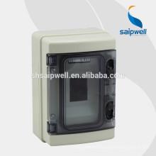 Boîtier de jonction pour boîte de distribution électronique en plastique IP65 4 voies